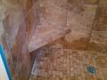 bathroom shower custom tile